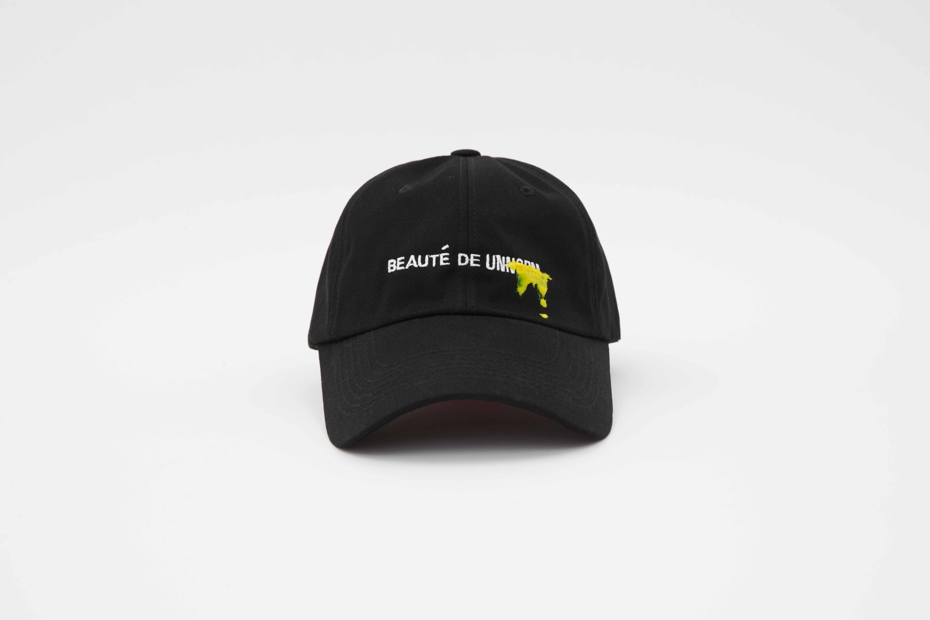[UNNORM]  Long Ball Cap (Yellow graffiti)