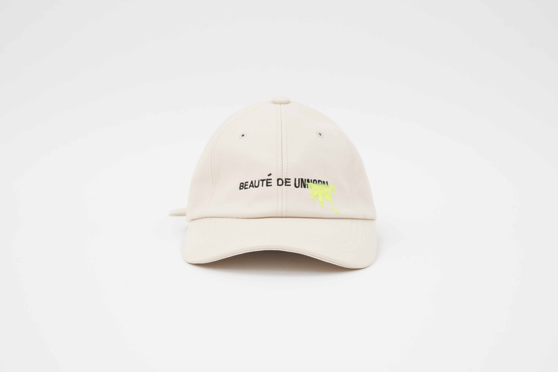 [artificial leather Ball Cap (Neon graffiti)]